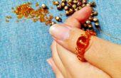 Faire votre propre anneau de perle de graine