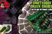 Grotesque vert larves