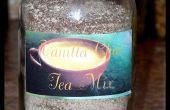 Mélange de thé instantané vanille Chai