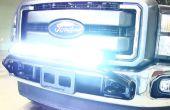 Comment faire pour installer hors route LED barre lumineuse
