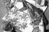 Faire un puzzle de M.C. Escher Reptile sur votre routeur de commande numérique par ordinateur/moulin