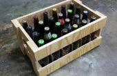 Caisse de bière de contreplaqué