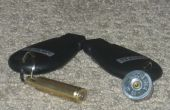 Carabine/fusil/Shell Key Chain