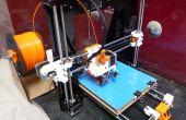 Imprimante 3D d'i3 prusa bâtiment avec extrudeuse direct