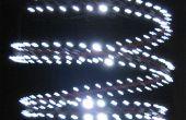 LUSTRE LED spirale
