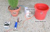 Planter suivi et arroser le système à l'aide d'evive (Arduino alimenté embarqué plate-forme)