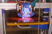 3D imprimante chauffée chambre d'isolement (à l'aide de la couverture de l'aérogel)