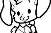Comment dessiner un lapin mangeur
