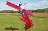 Vol 3D avec un modèle réduit d'avion