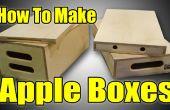 Comment faire des boîtes de Apple