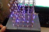 5 x 5 x 5 LED Cube (Arduino)