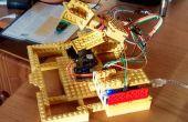 Traqueur solaire Arduino & Lego (biaxiale)