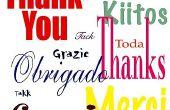 Comment travailler avec des gens d'autres langues