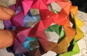 Faire le Raibow PHiZZ Origami Buckyball !