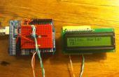 Contrôle d'affichage LCD ATTiny45/85 avec un registre à décalage, programmé dans l'Arduino