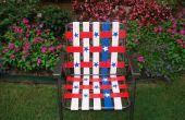 Stars et Stripes Duct Tape chaise de jardin