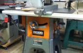 « Scie-Pal » Installation sur une scie à Table rigide R4512-