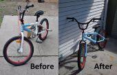 La peinture en aérosol votre vélo !