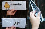 Comment faire un portefeuille de 1 morceau de papier journal