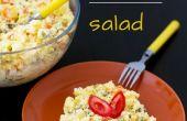 Pommes de terre crémeuse & jambon salade