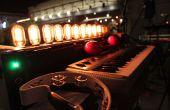 Antique ampoule orgue - MIDI/OSC contrôlée