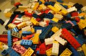 Panoramique pour briques, briques lego