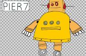Dessin animé 2D Animation du Robot Instructable