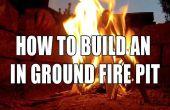 Comment construire un motif en fosse de feu