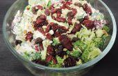 Salade de brocoli qui rend les haters de brocoli en redemande