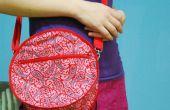 Fabriquer un sac rond, circulaire, non-quadrangulaire totalement inhabituel