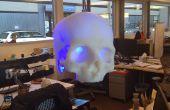 SKULLpilepsy!!!  3D imprimés lampe LED.
