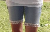 Lace Trim Shorts - projet de couture Simple