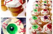 Globe oculaire Ice Cream Cone Cupcakes !