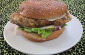 Poulet frit Steak Sandwich