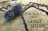 La construction d'une araignée géante