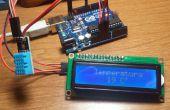 Mostrar Temperatura fr affichage con capteur DHT11 y Arduino