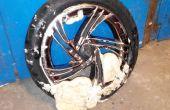 Pompe de vos pneus avec expansion de mousse