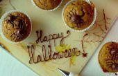 Terrible (ok, mignon) cupcakes araignée citrouille