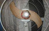 Pales du ventilateur en carton