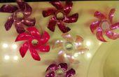 Comment faire des fleurs en plastique