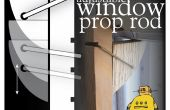 Tige de fenêtre ajustables Prop