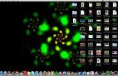 Écran de veille fond d'écran sur un Mac