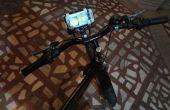 Vélo faible coût Téléphone Mobile Mount à l'aide de (vieilles bouteilles de déodorant)