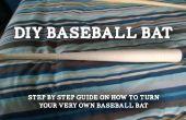 En tournant votre batte de baseball très propre