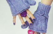 Comment faire Glittens (fingerless Gants-Mitaines)