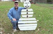 Bonhomme de neige de palette