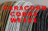 Cobra armure paracord