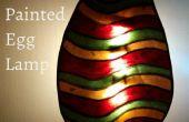 Rougeoyant Pâques lampe
