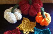 Crochet de Maple Leaf