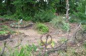Construire une clôture de jardin tout à fait naturelle (pour rien!)